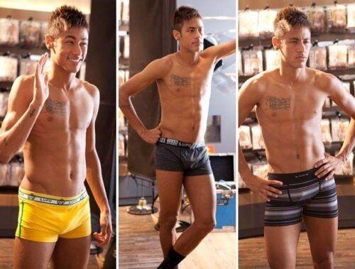 Neymar de cueca