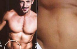 5 Homens famosos nus mostrando tudo