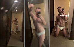 """Sam Smith """"pelado"""" de cueca em fotos"""