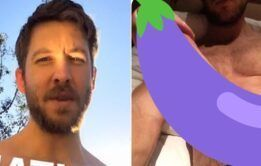 Suposta foto de Calvin Harris pelado vaza