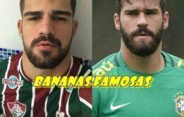 Goleiro Alisson pelado da Seleção brasileira