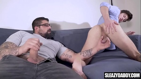 Stepdad gives son a photography lesson - real gay taboo - Hot