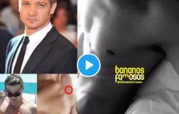 Jeremy Renner pelado em Bananas Famosas – Atores pelados