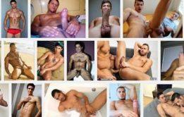 Homens pelados e dotados em fotos