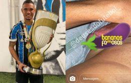 Nudes de famoso - Luiz Fernando pelado, jogador brasileiro do Grêmio
