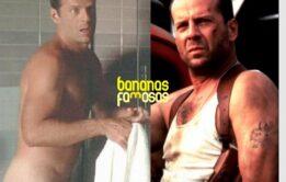 Fotos e Gifs de Bruce Willis pelado