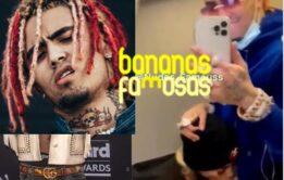 Rapper Lil Pump transando no vídeo - Nudes
