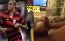 Nudes do jogador Adriano pelado caiu na net