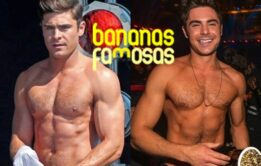Vídeo de fotos do ator Zac Efron pelado