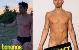 Felipe de Carolis vaza nudes do ator pelado