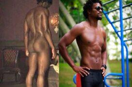 Nudes do ator famoso David Junior pelado