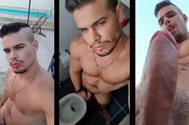 Porno gay com Rico Marlon mostrando o inicio da carreira
