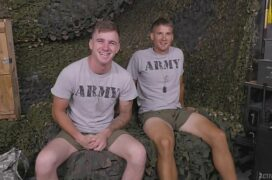 Atletas militares gays dando e fodendo no exercito